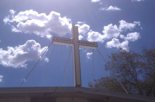 Silver City Gospel Mission Cross