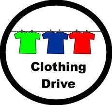 host a clothing drive